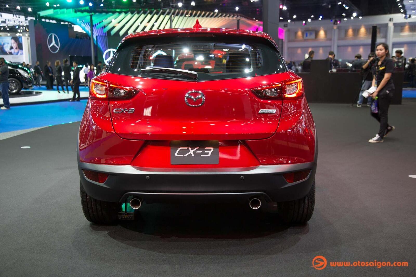 Mazda CX-3 2019 nâng cấp nội ngoại thất; động cơ mạnh hơn - Hình 3