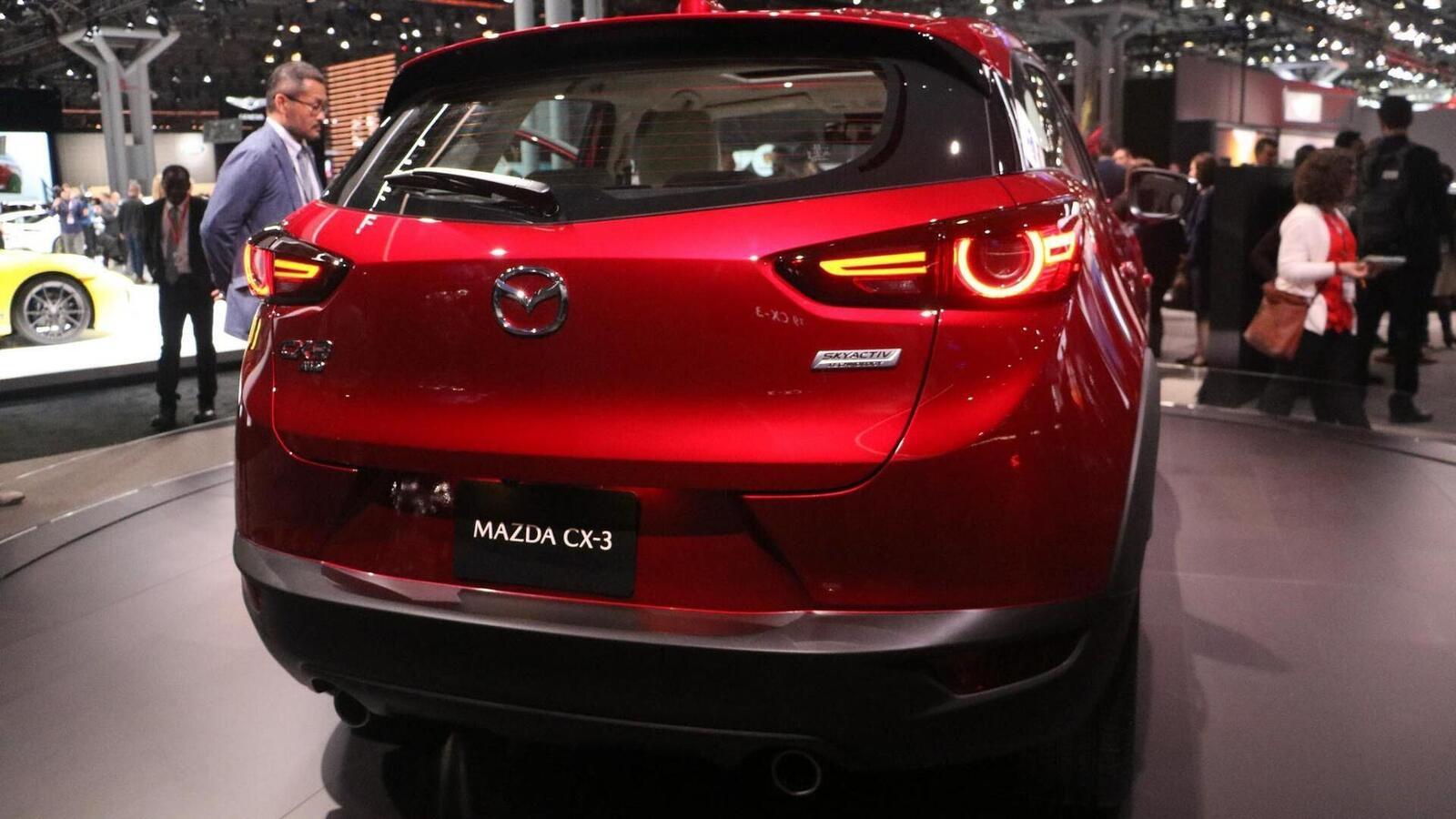 Mazda CX-3 2019 nâng cấp nội ngoại thất; động cơ mạnh hơn - Hình 9