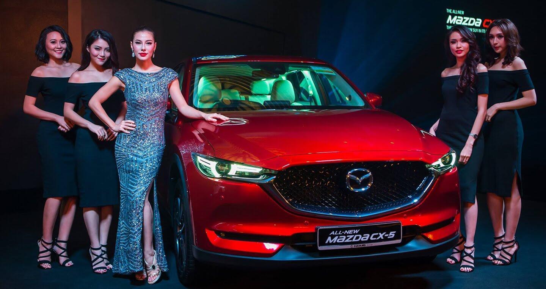 Mazda CX-5 thế hệ mới ra mắt tại Singapore, giá từ 105.433 USD - Hình 1