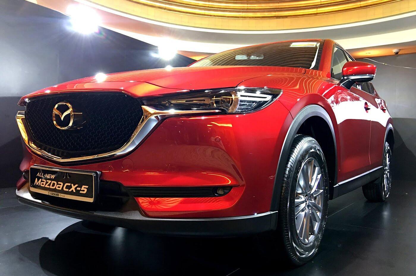 Mazda CX-5 thế hệ mới ra mắt tại Singapore, giá từ 105.433 USD - Hình 6