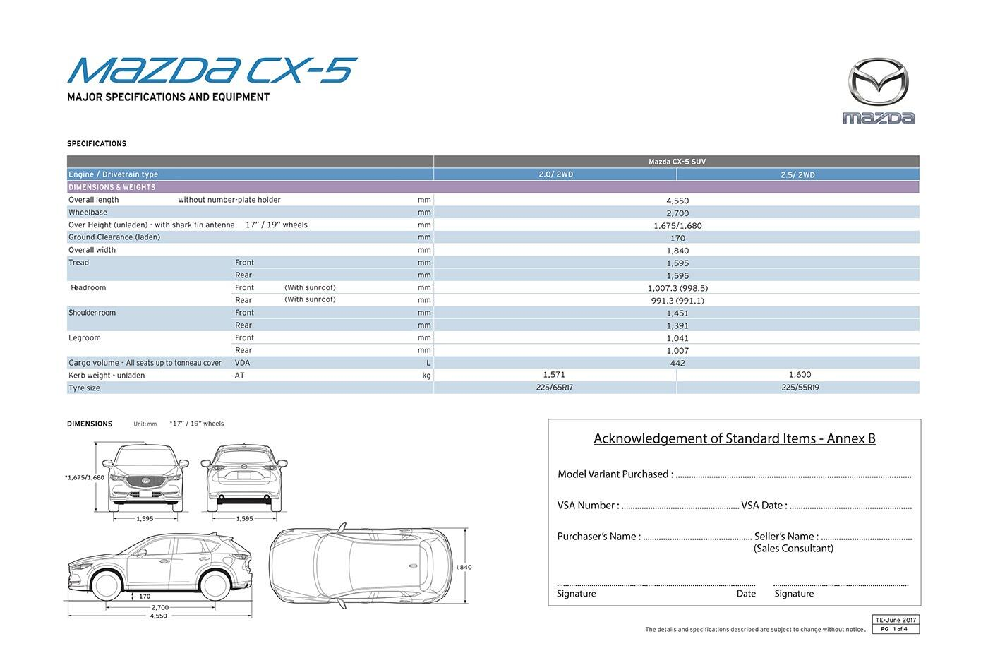Mazda CX-5 thế hệ mới ra mắt tại Singapore, giá từ 105.433 USD - Hình 8