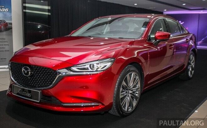 Mazda6 2018 xuất hiện tại Malaysia - đối thủ của Toyota Camry - Hình 1