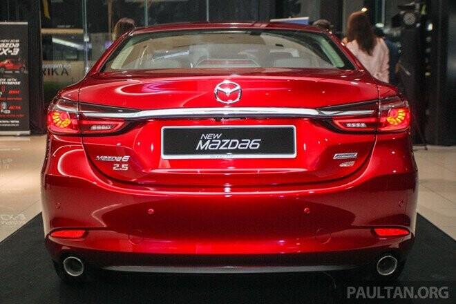 Mazda6 2018 xuất hiện tại Malaysia - đối thủ của Toyota Camry - Hình 3