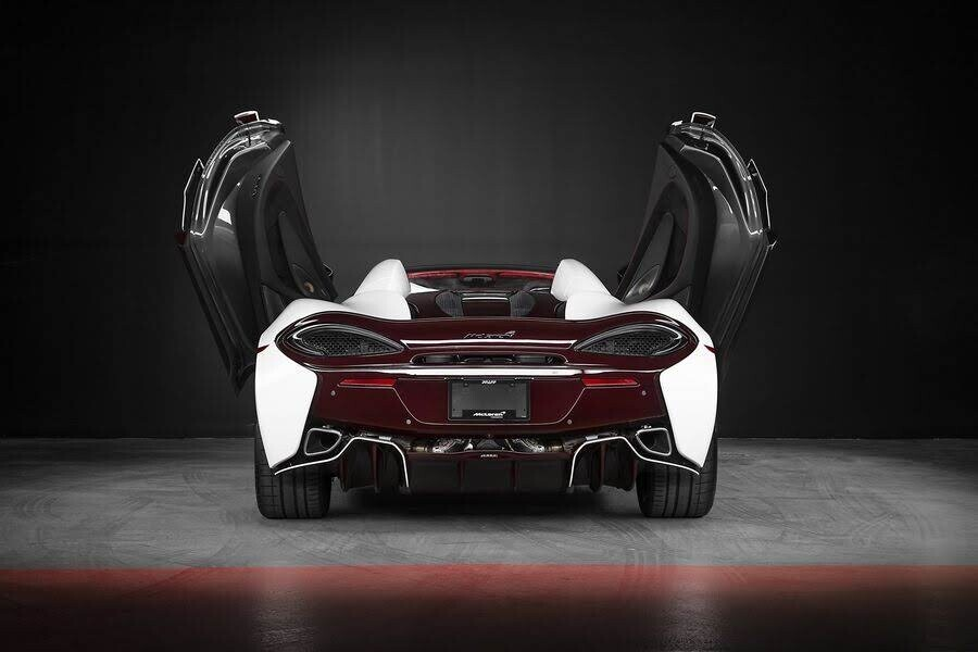 McLaren ra mắt phiên bản 570S Spider Limited Edition - Hình 9