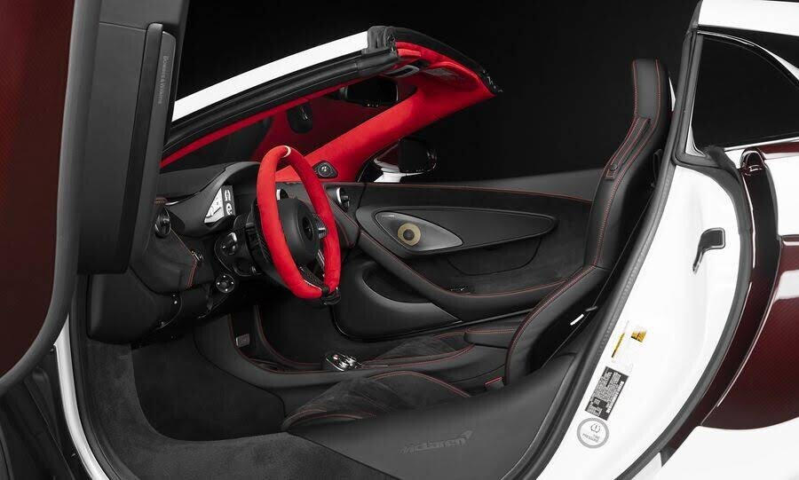 McLaren ra mắt phiên bản 570S Spider Limited Edition - Hình 10