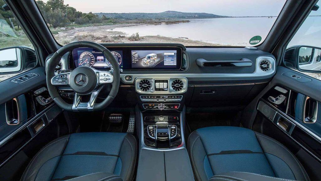 Mercedes-AMG G63 2019 - Chiếc xe off-road đáng mơ ước nhất - Hình 4