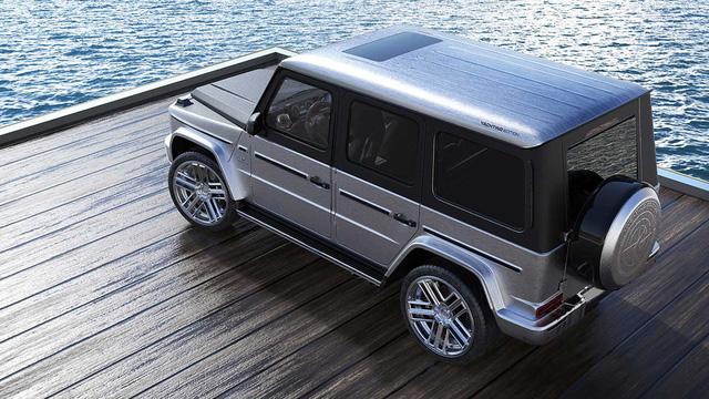 Mercedes-AMG G63 độ nội thất gỗ như siêu du thuyền - Cảm hứng mới cho đại gia Việt - Ảnh 2.