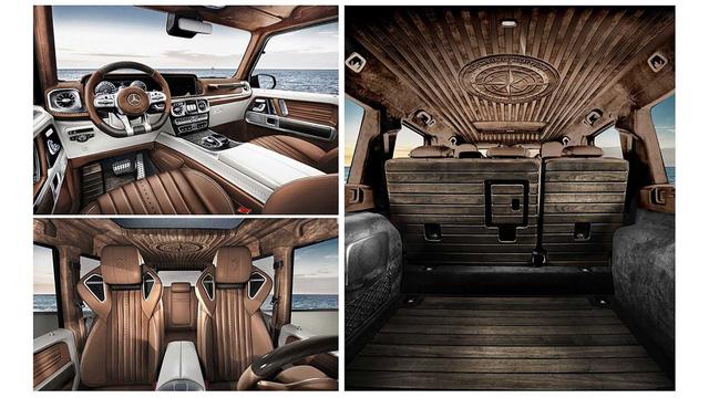 Mercedes-AMG G63 độ nội thất gỗ như siêu du thuyền - Cảm hứng mới cho đại gia Việt - Ảnh 5.