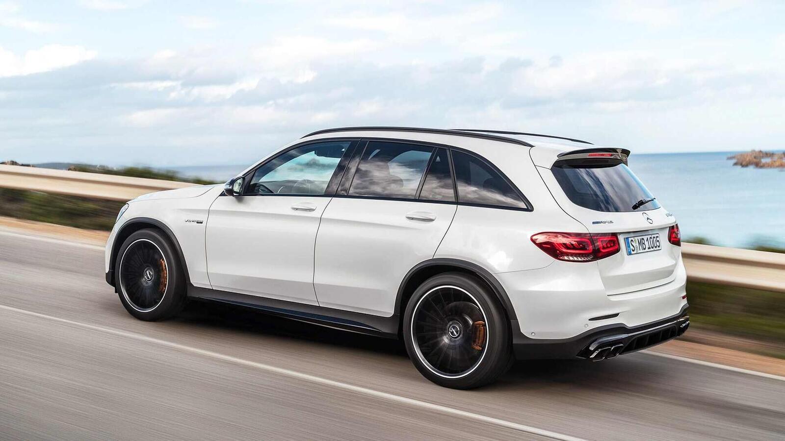 Mercedes-AMG giới thiệu GLC và GLC Coupe 63 mới lắp động cơ V8 4.0L Biturbo mạnh hơn 460 mã lực - Hình 12