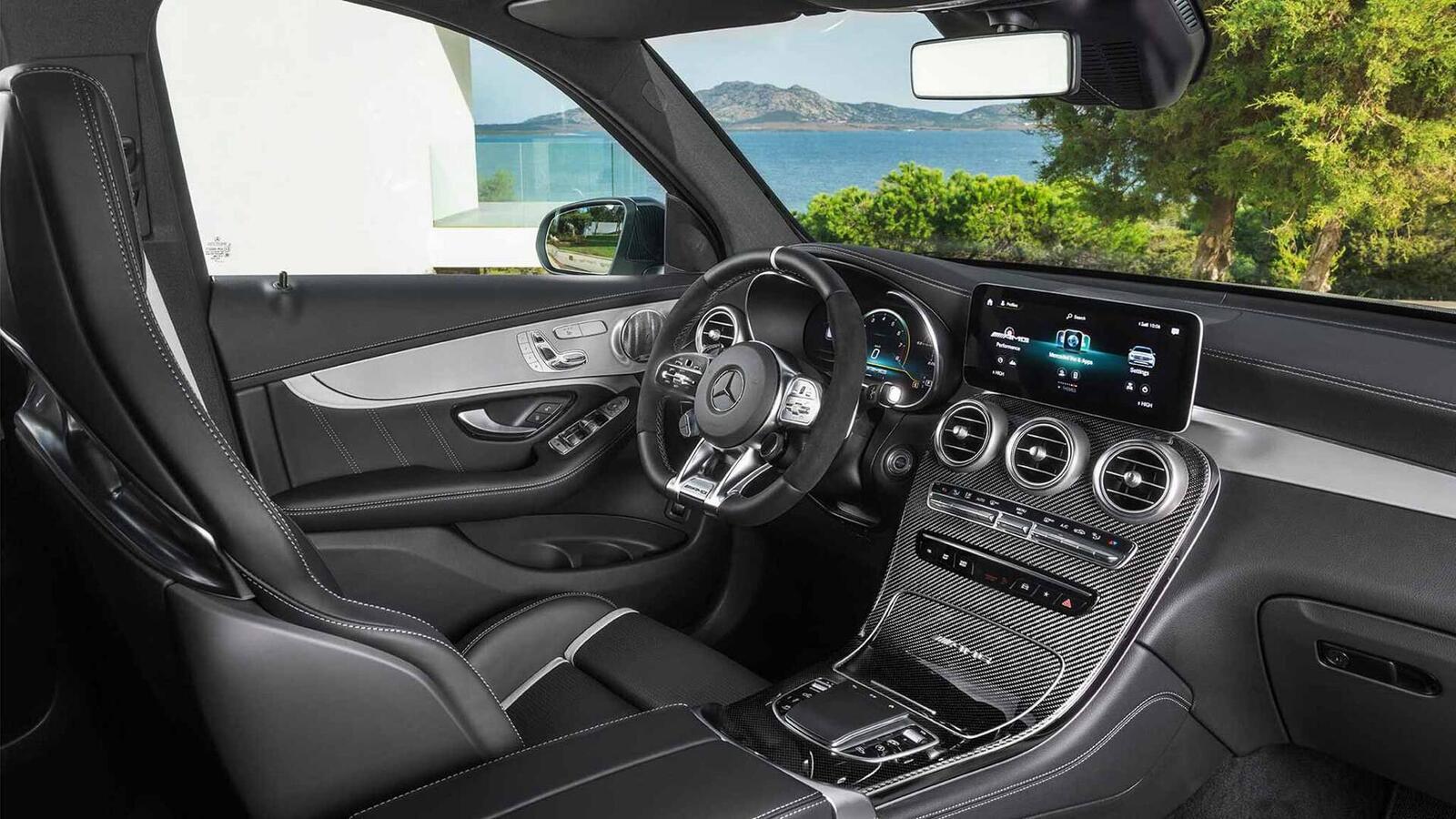 Mercedes-AMG giới thiệu GLC và GLC Coupe 63 mới lắp động cơ V8 4.0L Biturbo mạnh hơn 460 mã lực - Hình 18
