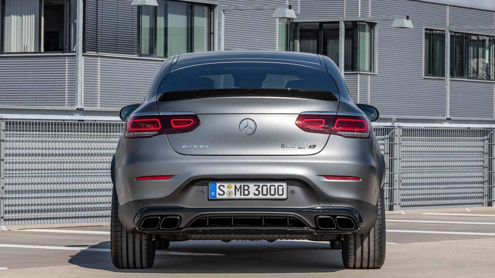 Mercedes-AMG giới thiệu GLC và GLC Coupe 63 mới lắp động cơ V8 4.0L Biturbo mạnh hơn 460 mã lực - Hình 27