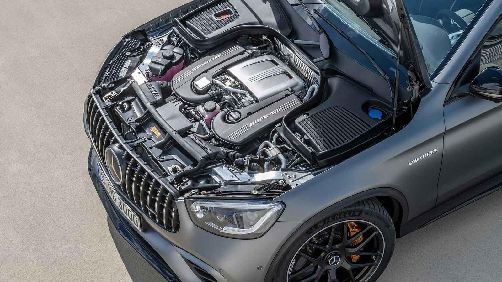 Mercedes-AMG giới thiệu GLC và GLC Coupe 63 mới lắp động cơ V8 4.0L Biturbo mạnh hơn 460 mã lực - Hình 29