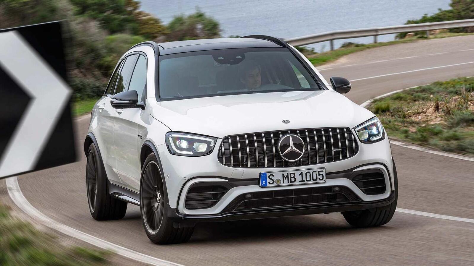 Mercedes-AMG giới thiệu GLC và GLC Coupe 63 mới lắp động cơ V8 4.0L Biturbo mạnh hơn 460 mã lực - Hình 4