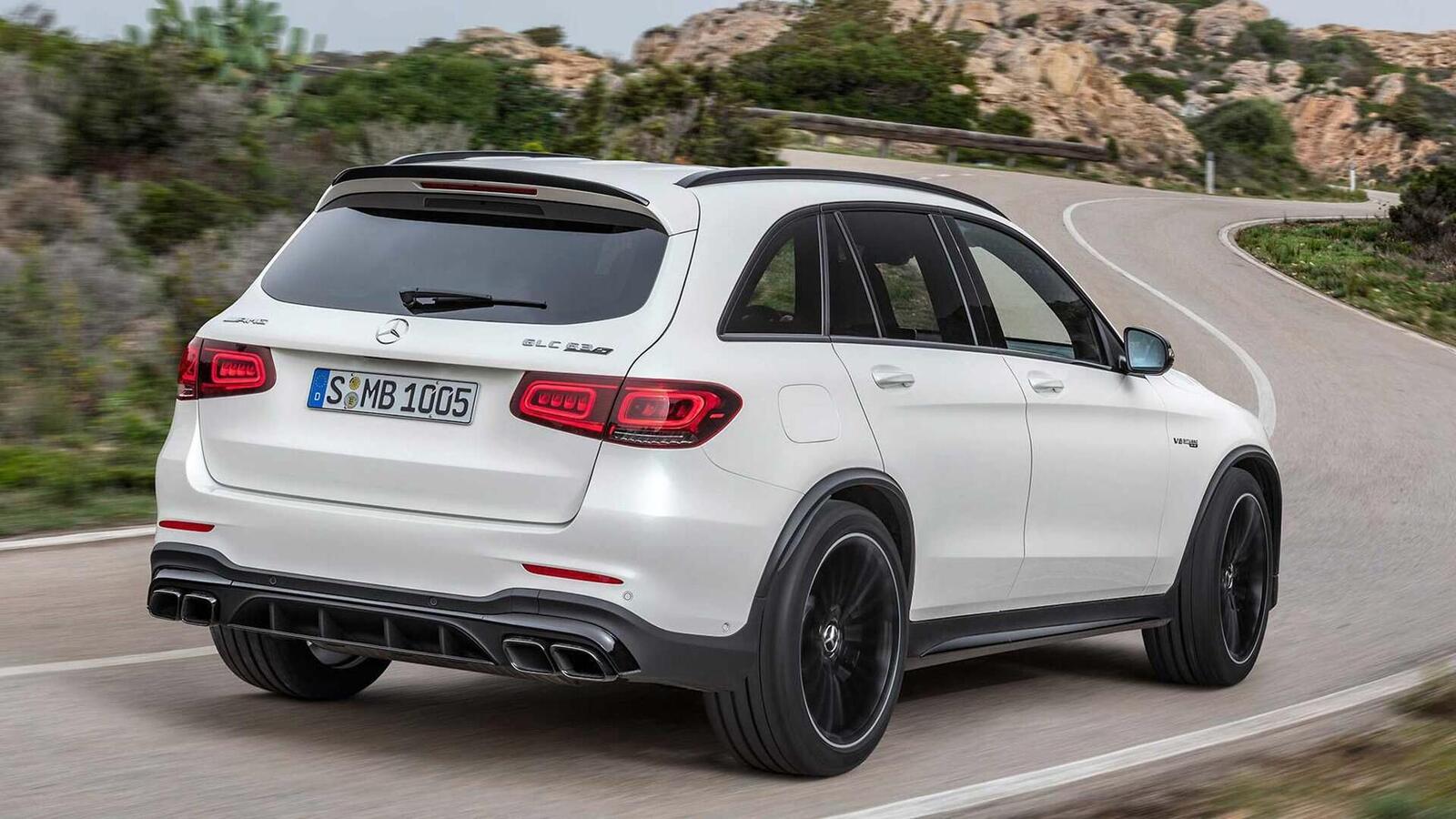 Mercedes-AMG giới thiệu GLC và GLC Coupe 63 mới lắp động cơ V8 4.0L Biturbo mạnh hơn 460 mã lực - Hình 6