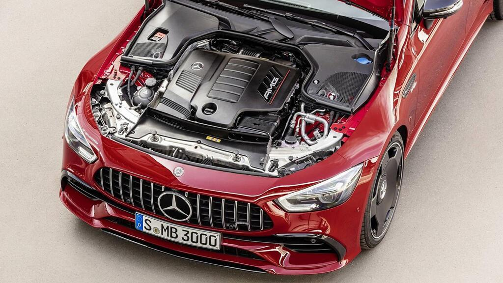 Mercedes-AMG GT 43 coupe 4 cửa 2019 ra mắt - Hình 3