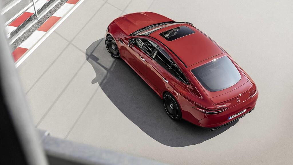 Mercedes-AMG GT 43 coupe 4 cửa 2019 ra mắt - Hình 6