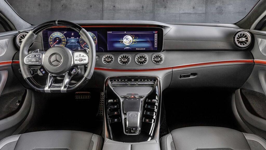 Mercedes-AMG GT 43 coupe 4 cửa 2019 ra mắt - Hình 7