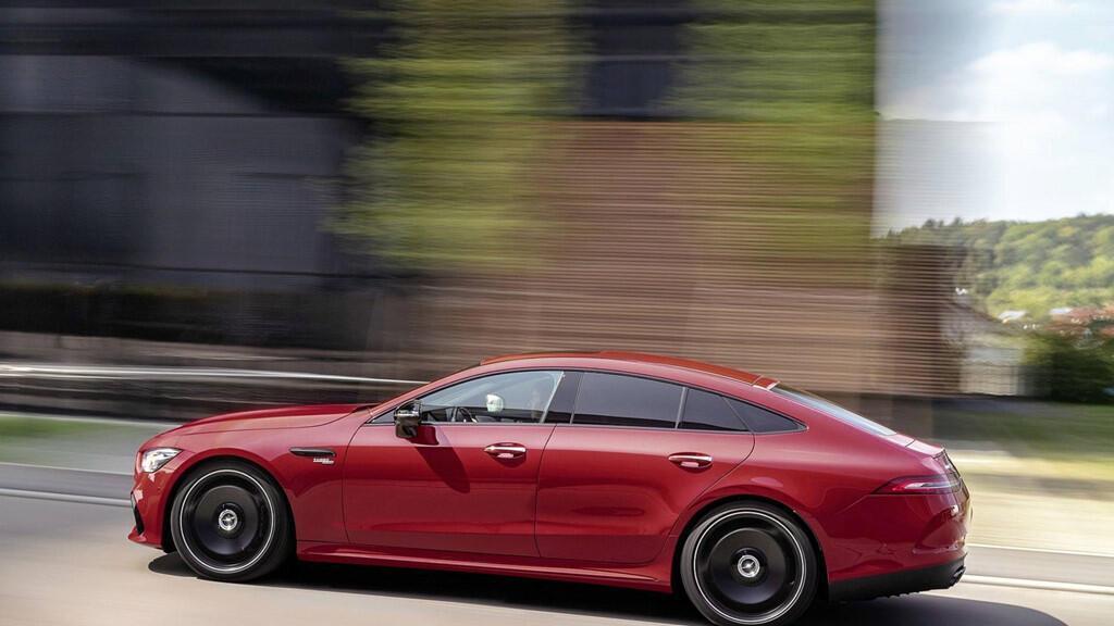 Mercedes-AMG GT 43 coupe 4 cửa 2019 ra mắt - Hình 8