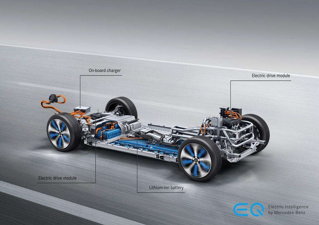 Mercedes-Benz EQC - crossover điện đầu tiên của hãng xe Đức sẽ trình làng vào tháng 1/2019 - Hình 8