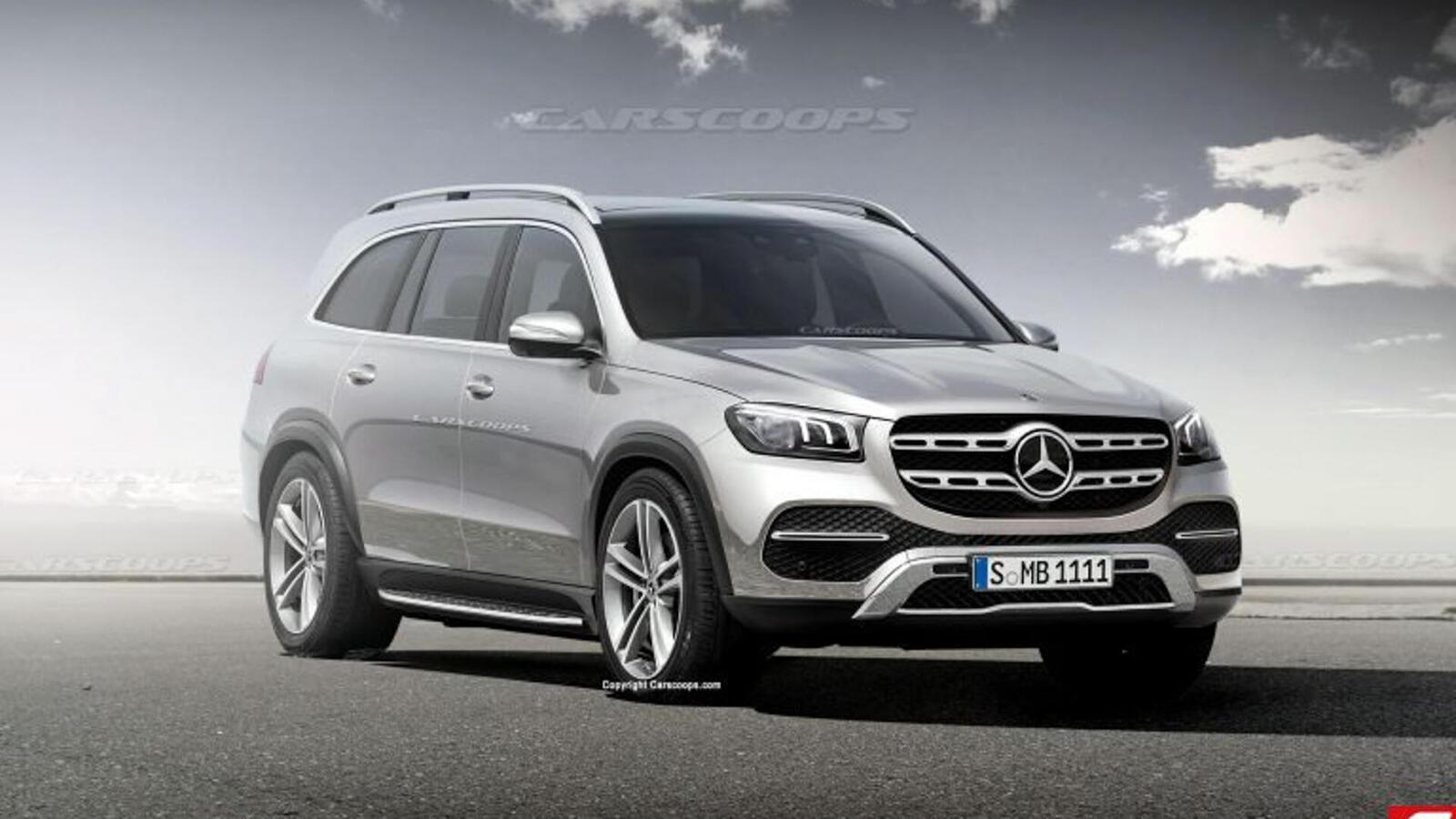 Mercedes-Benz gấp rút ''lên đời'' GLS mới đấu với BMW X7 - Hình 1