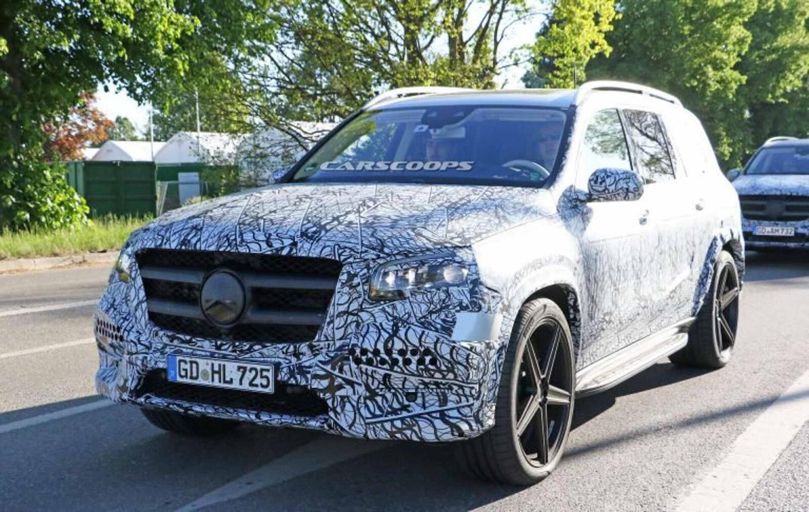 Mercedes-Benz gấp rút ''lên đời'' GLS mới đấu với BMW X7 - Hình 2