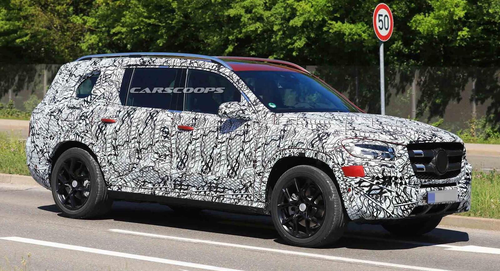 Mercedes-Benz gấp rút ''lên đời'' GLS mới đấu với BMW X7 - Hình 4