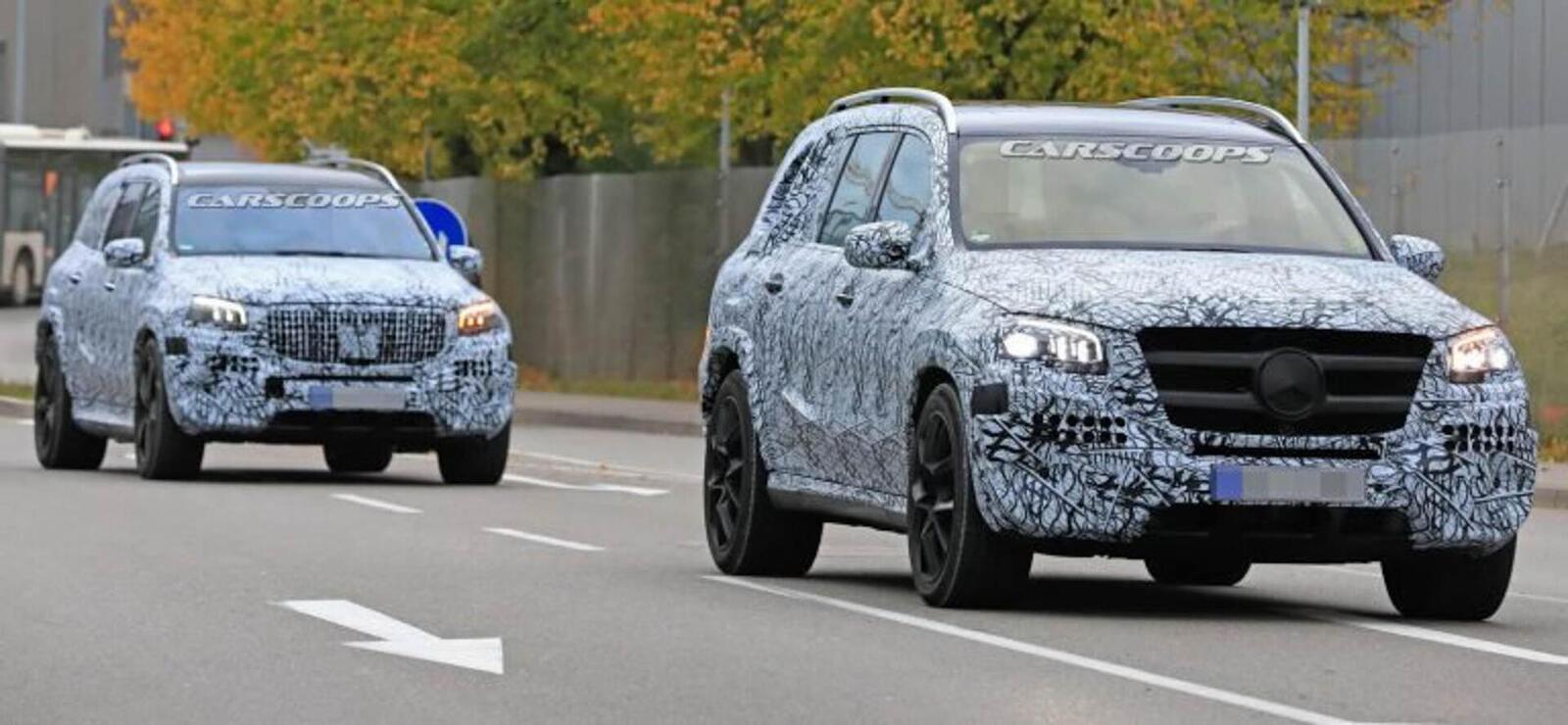 Mercedes-Benz gấp rút ''lên đời'' GLS mới đấu với BMW X7 - Hình 5