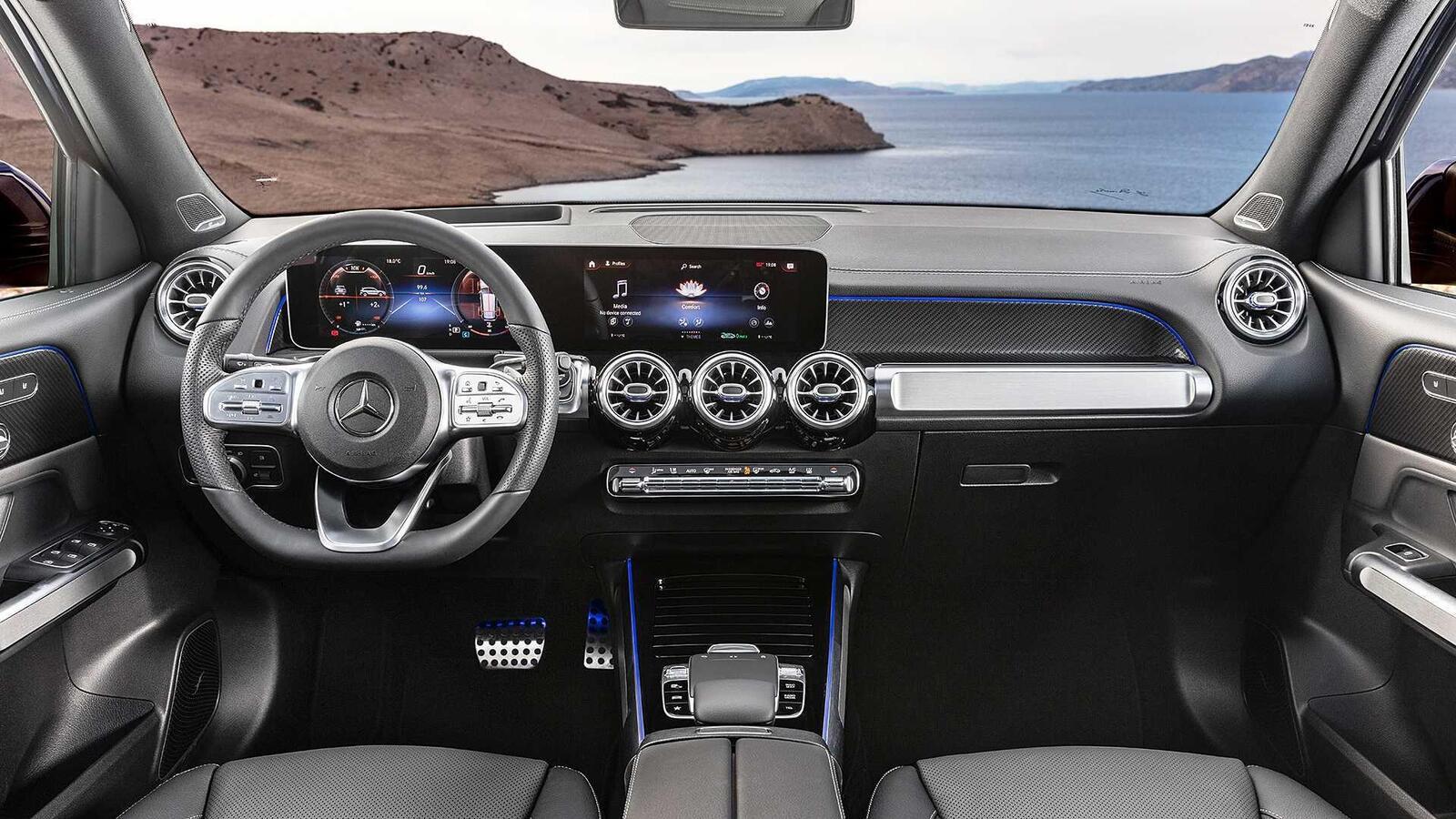 Mercedes-Benz GLB 2020 chính thức ra mắt: xe 7 chỗ dành cho gia đình - Hình 15