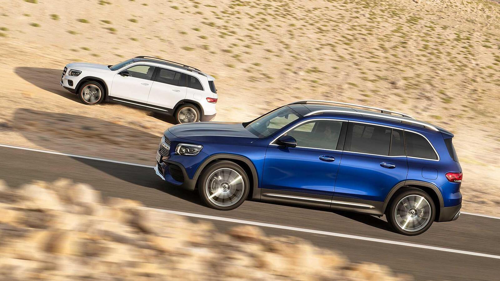 Mercedes-Benz GLB 2020 chính thức ra mắt: xe 7 chỗ dành cho gia đình - Hình 4