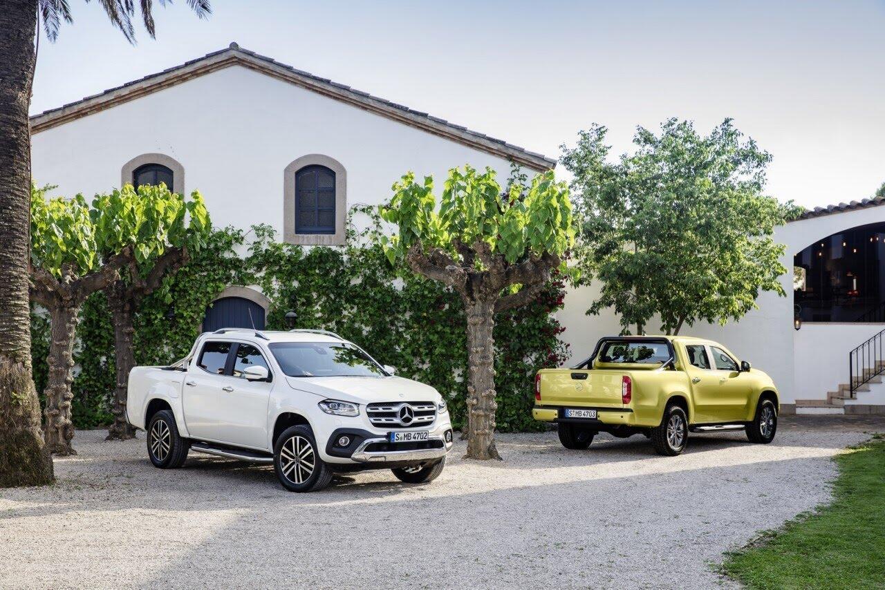 Mercedes cần Nissan giúp đỡ để tạo ra X-Class - Hình 1