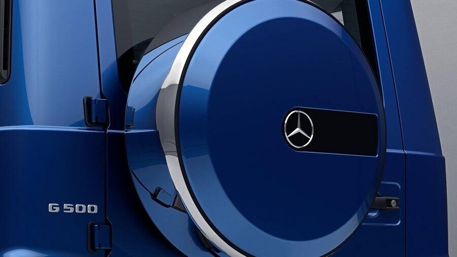 """Mercedes G-Class 2019 """"điển trai"""" hơn nhờ gói ngoại thất thép không gỉ đặc biệt - Hình 2"""