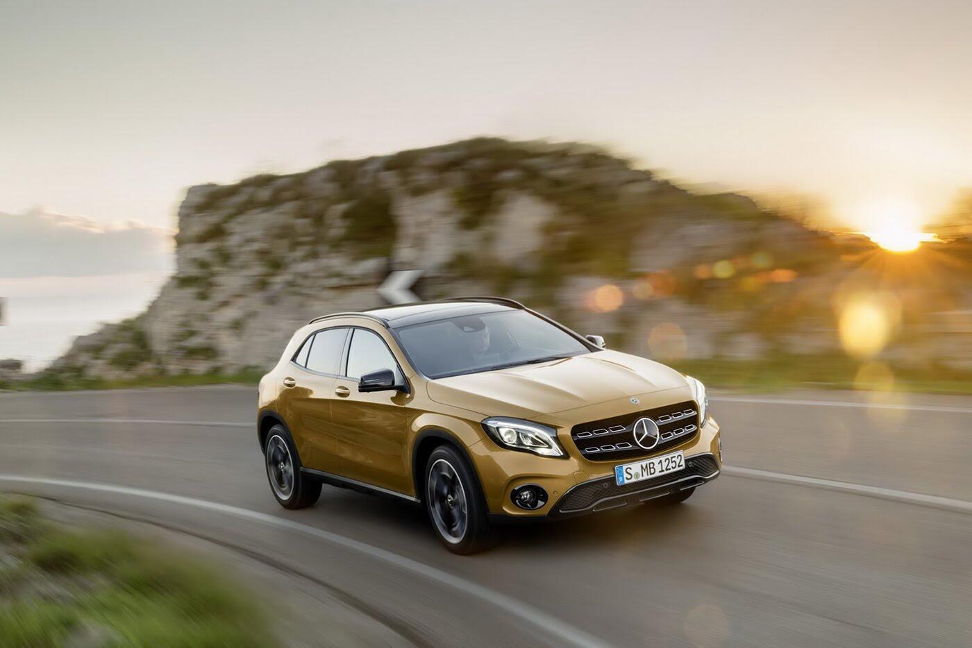 Mercedes GLA bản nâng cấp có giá từ 43.900 USD - Hình 1