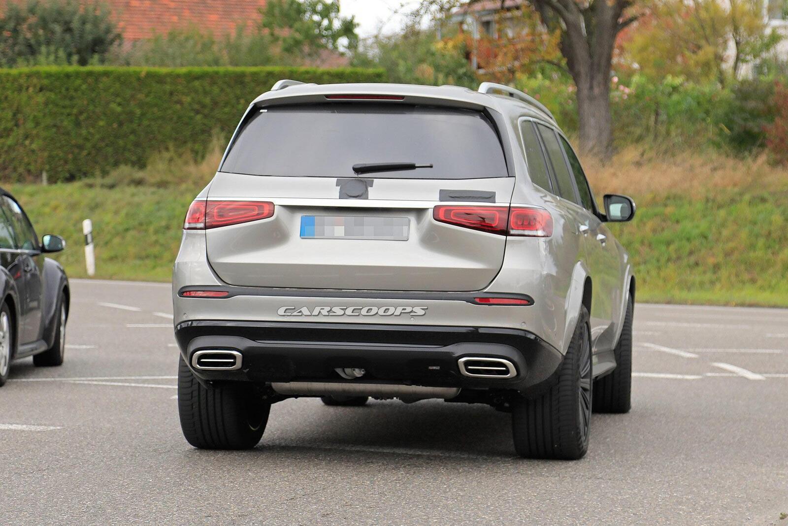 Mercedes-Maybach GLS sẽ ra mắt vào ngày mai