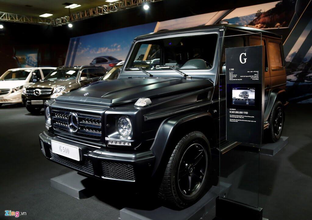 Mercedes trưng dàn xe 150 tỷ tại Hà Nội - Hình 4