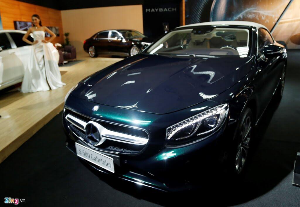 Mercedes trưng dàn xe 150 tỷ tại Hà Nội - Hình 8
