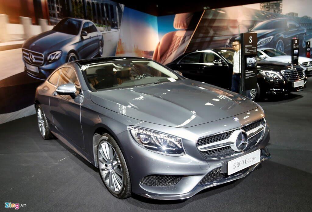 Mercedes trưng dàn xe 150 tỷ tại Hà Nội - Hình 9