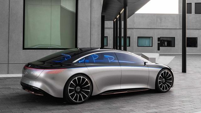 Sau S-Class của xe điện, Mercedes làm hẳn AMG S-Class của xe điện - Ảnh 2.