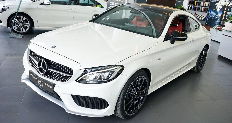 Mercedes-AMG C43 Coupe giá 4,2 tỷ đầu tiên về Việt Nam - Hình 1