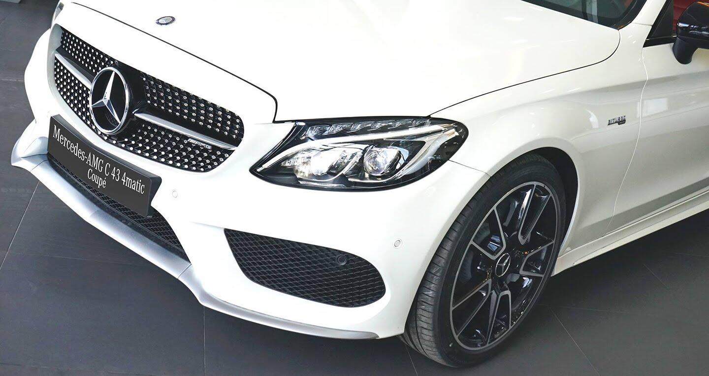 Mercedes-AMG C43 Coupe giá 4,2 tỷ đầu tiên về Việt Nam - Hình 4