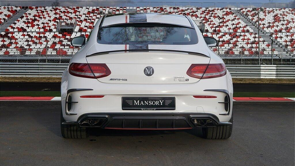 Mercedes-AMG C63 'hóa thân' thành xe đua - Hình 5