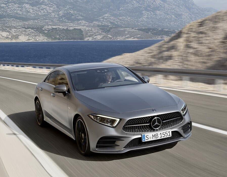 Mercedes-Benz CLS 2018 sang trọng và nhiều công nghệ - Hình 1