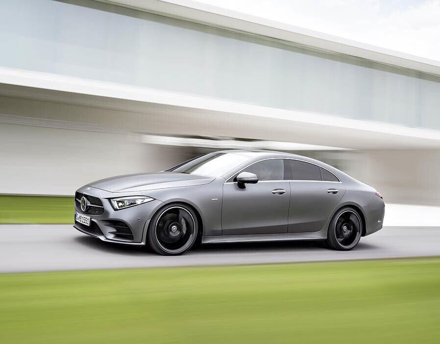 Mercedes-Benz CLS 2018 sang trọng và nhiều công nghệ - Hình 2