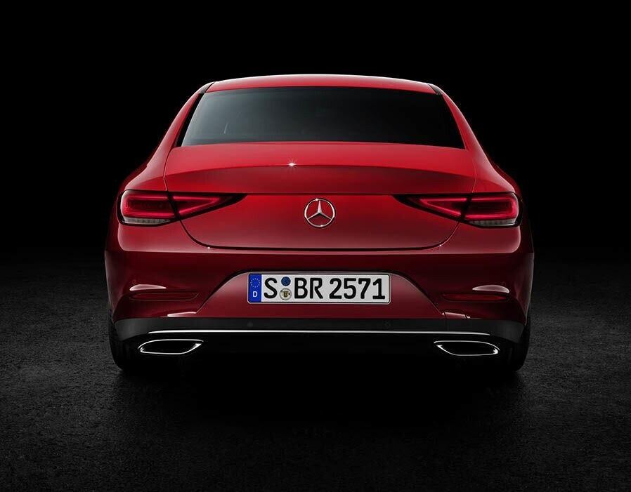 Mercedes-Benz CLS 2018 sang trọng và nhiều công nghệ - Hình 6