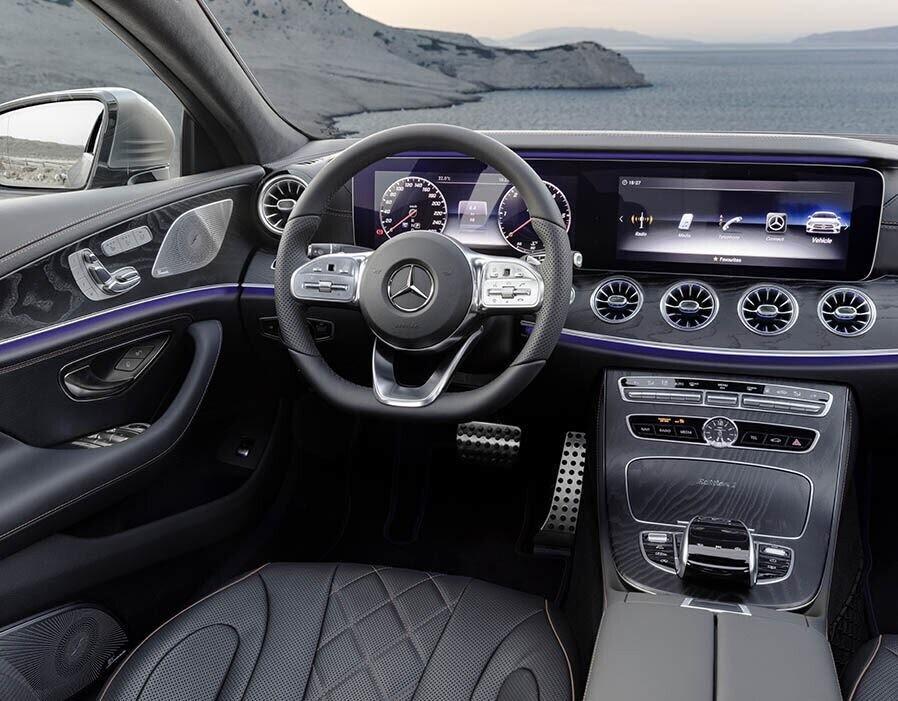 Mercedes-Benz CLS 2018 sang trọng và nhiều công nghệ - Hình 7
