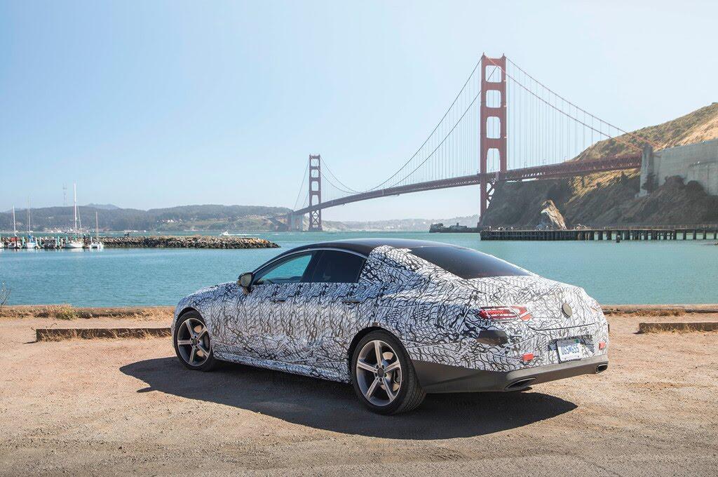 Mercedes-Benz CLS 2019 hé lộ thiết kế độc nhất - Hình 3