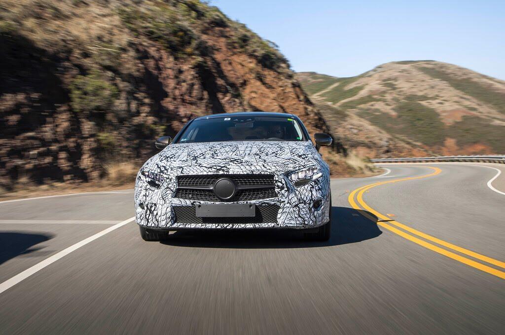 Mercedes-Benz CLS 2019 hé lộ thiết kế độc nhất - Hình 5