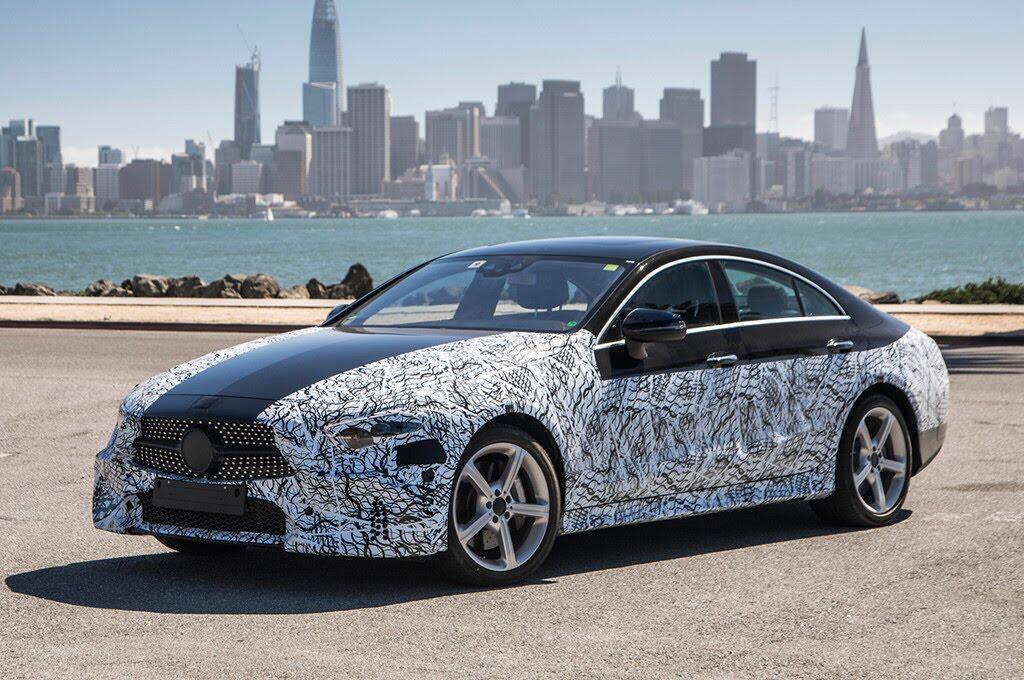 Mercedes-Benz CLS 2019 hé lộ thiết kế độc nhất - Hình 6