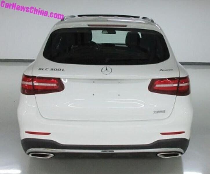Mercedes-Benz GLC-L 2018 đã sẵn sàng ra mắt tại Trung Quốc - Hình 3