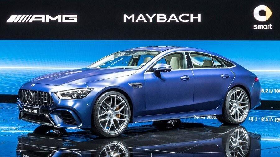 Mercedes-Benz khuấy động Geneva 2018 với AMG GT 4-Door Coupe 2019 - Hình 1