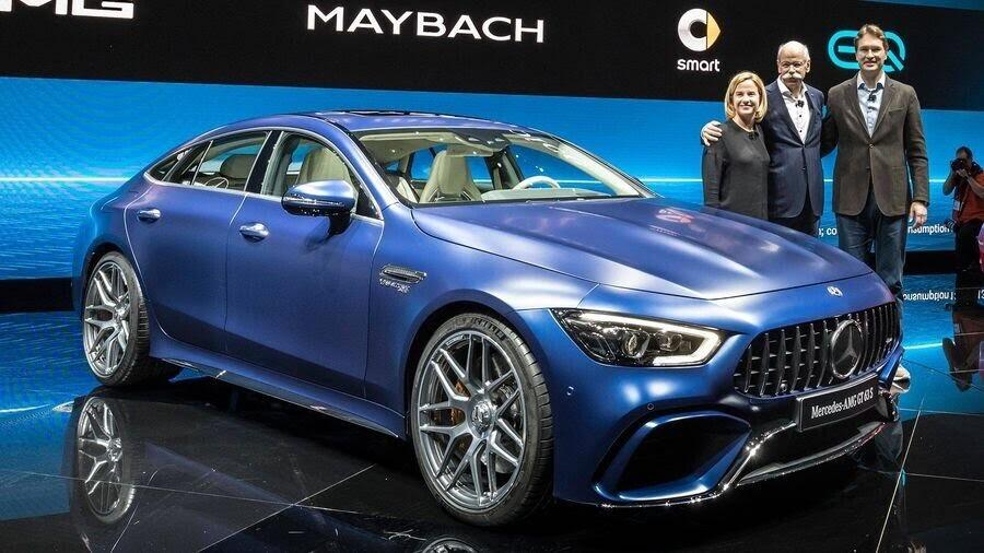 Mercedes-Benz khuấy động Geneva 2018 với AMG GT 4-Door Coupe 2019 - Hình 3